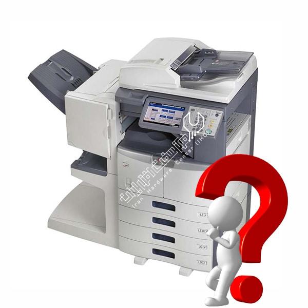 هارد دیسک در دستگاه کپی