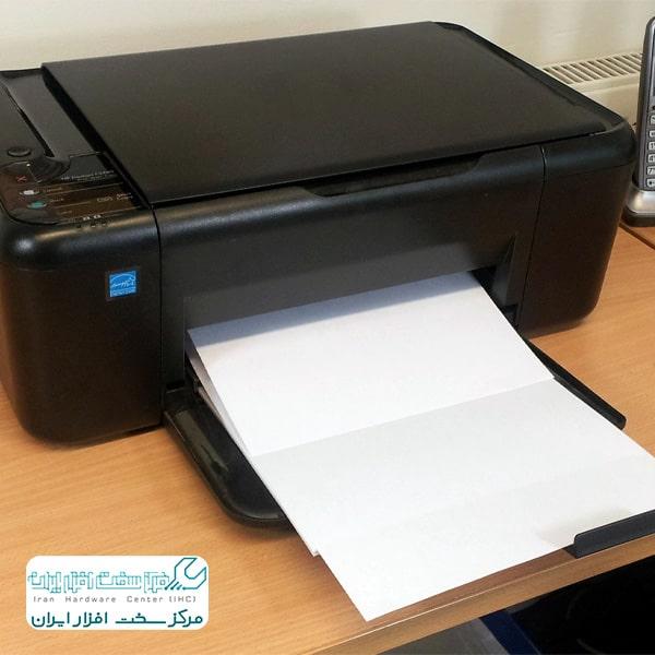 چاپ سفید پرینتر کونیکا مینولتا